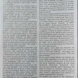 """Articolo pubblicato sul giornale del paese """"Novembre 2018"""