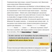 Articolo pubblicato su VareseNews ''Giugno 2020